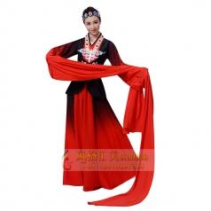 袖舞蹁跹舞蹈服装女古代汉服舞水袖衣定制设计厂家