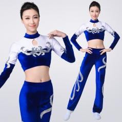 风格汇美健美操服装新款团体健美操演出服装大学生团体啦啦队服装