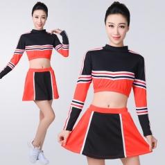 2018新款啦啦操比赛服装大学生团体健美操套装拉拉队舞台表演服装