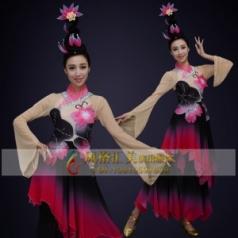 经典剧目《爱莲说》舞蹈服装艺考舞蹈演出服定制桃李杯大赛舞台装定制