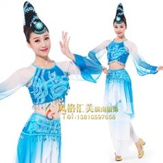 经典剧目《罗敷行》舞蹈演出服装艺考舞蹈舞台表演服装女款舞蹈演出服装定制!