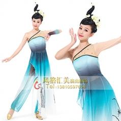 经典剧目《空谷幽兰》舞蹈演出服装艺考女款舞台服装剧目舞蹈服装定制!