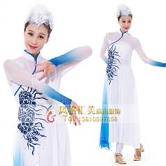 舞台舞蹈演出服装中国风飘逸舞蹈演出服装成人艺考舞蹈表演服装新款舞蹈服装定制!