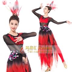 经典剧目《西域之火》舞蹈表演服装艺考女款演出服装新款舞台舞蹈演出服装定制!
