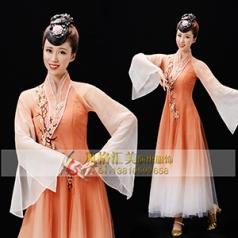 经典剧目《烟花三月》舞蹈舞台服装艺考舞台演出服装新款舞蹈演出服装定制!
