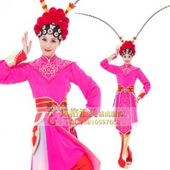 经典剧目《红玉丹心》真丝舞蹈舞台服装新款艺考舞台演出服装新款舞台舞蹈服装定制!