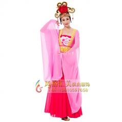 新款舞蹈演出服装艺考舞台表演服装女款粉色舞蹈演出服装古风舞蹈演出服装!