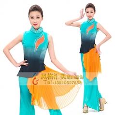 艺考舞蹈演出服装真丝古典舞蹈演出服装设计新款舞蹈演出服装设计定制!
