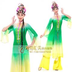 经典剧目《芳春行》真丝舞蹈演出服装艺考舞台表演服装新款舞蹈演出服装设计定制!